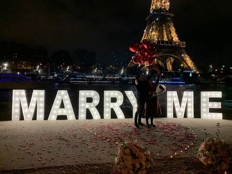 paris proposal planner