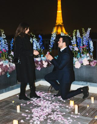 Paris proposal planner les entremetteuses