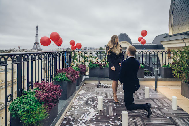 romantic paris proposal planner