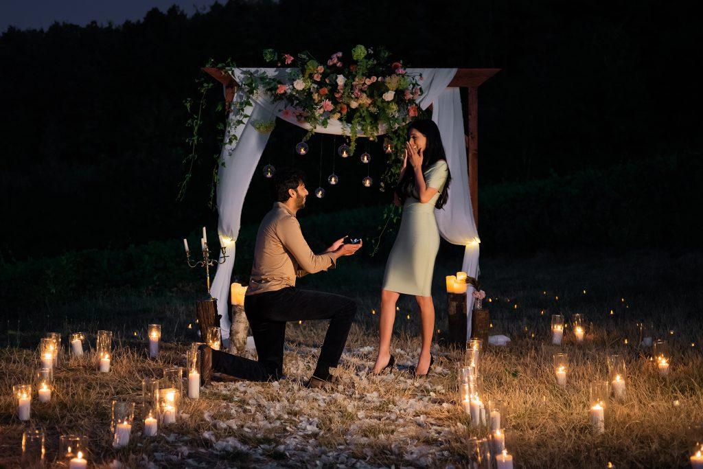 amazing proposal vineyard