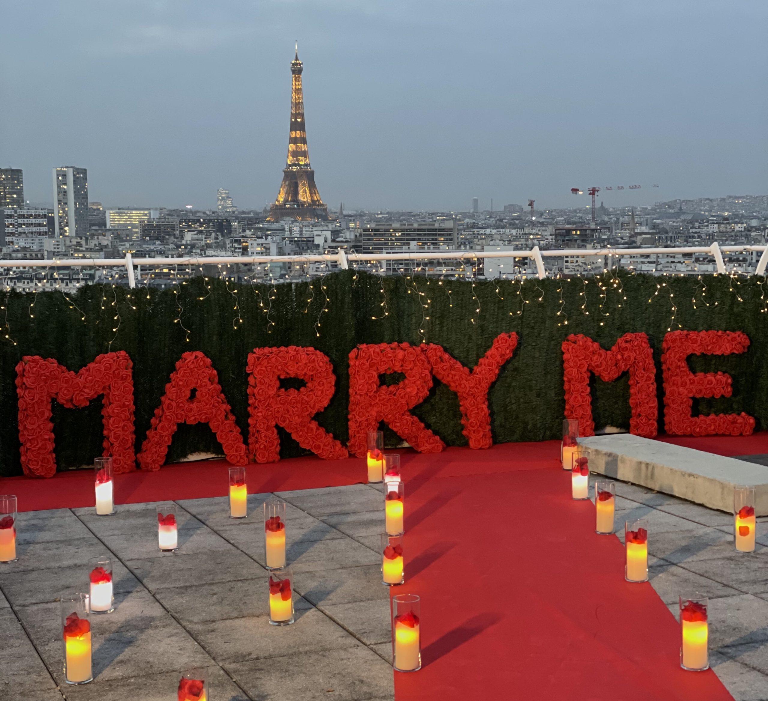 location demande en mariage