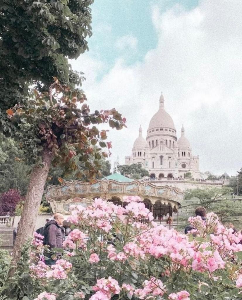 Montmartre in spring