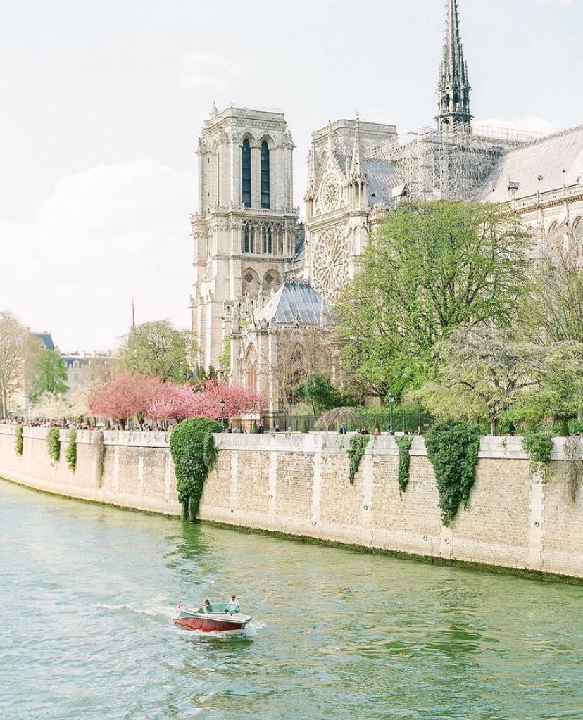 The Seine in spring
