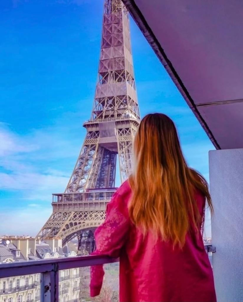 Parisian rooftop